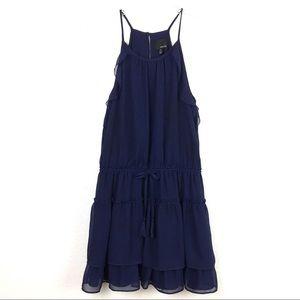 Greylin | Tami Ruffled Halter Dress. NWOT